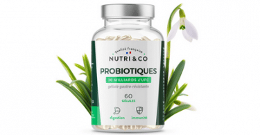 Avis Probiotiques 30 milliards d'UFC Nutri & Co