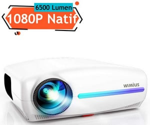 Avis Vidéoprojecteur Wimius 6500 Lumens S1