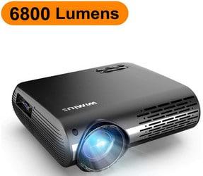 Avis Vidéoprojecteur Wimius P20 6800 Lumens