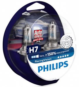 Avis ampoules h7 Philips RacingVision 150%
