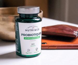 Bienfaits Probiotiques 30 milliards d'UFC Nutri & Co