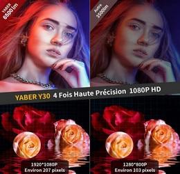 Test vidéoprojecteur Yaber Y30 6500