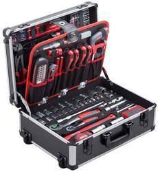 Caisse à outils complète Meister 156 pièces 8971440