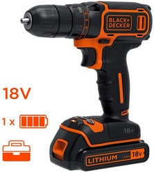 Perceuse Black+Decker BDCDC18k-QW