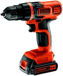 Perceuse visseuse Black+Decker EGBL14K-QW