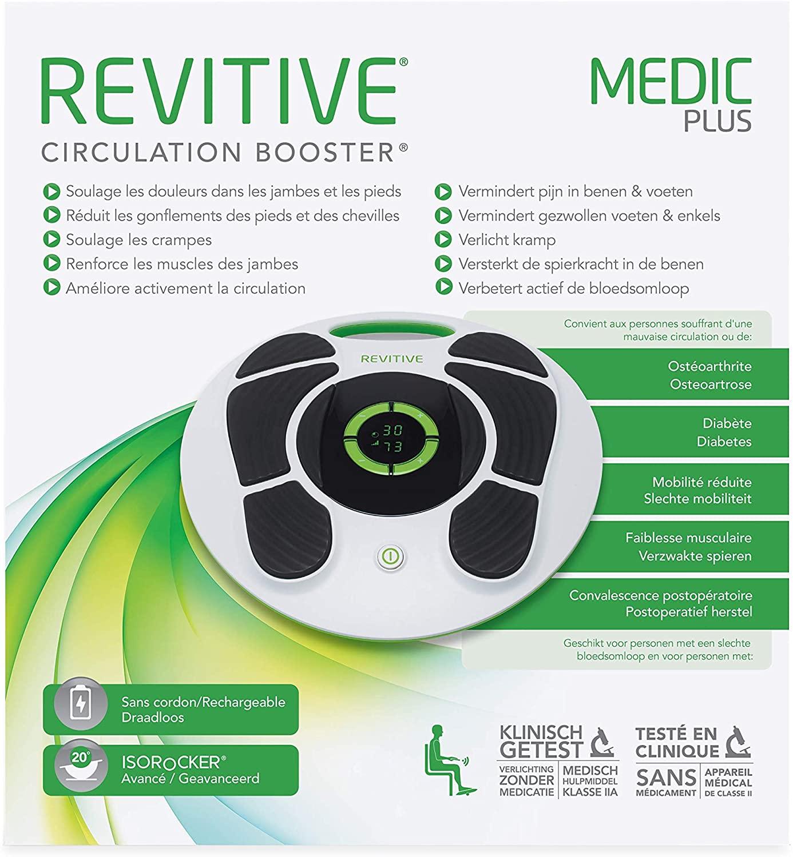 Revitive Medic Plus Stimulateur Circulatoire Rechargeable pour les pieds